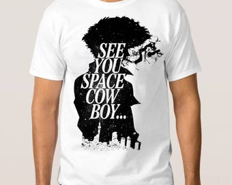 Cowboy Bebop 'See You Space Cowboy' T-Shirt, All Sizes