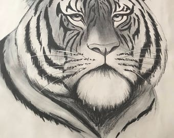 Tiger Print by S Lerry 1971
