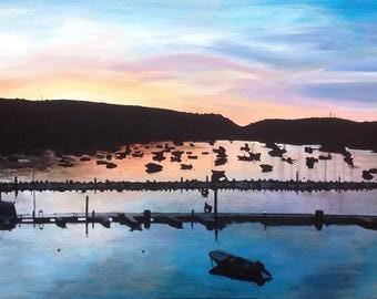 Salcombe at Sunrise