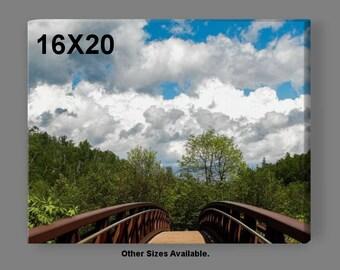 Fine Art Landscape Photography-Over the Bridge