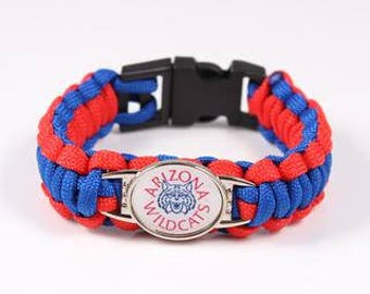 ARIZONA WILDCATS Paracord Bracelet