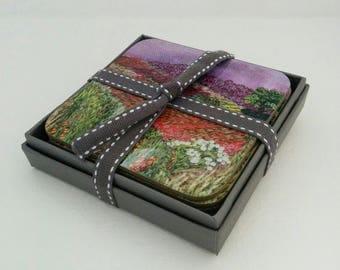 Coasters, set of 4