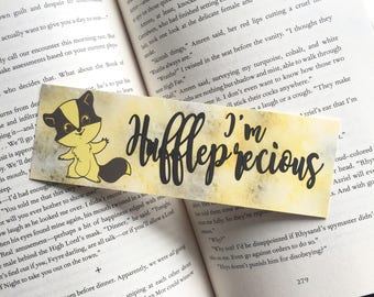 I'm Huffleprecious | Harry Potter Bookmark