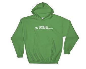 I Am The Lizard Queen Hooded Sweatshirt
