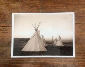 Greeting Card - Tipis