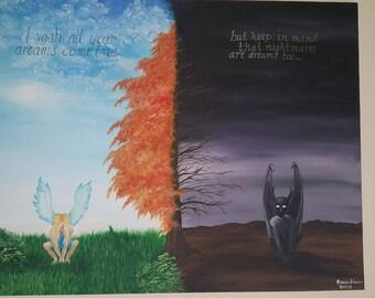 Angel vs. Demon - Dreams and Nightmares