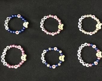 Name Bracelet Baby Wish name