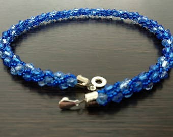 Jewelry Beads #3 Necklace Necklace beaded Jewelry сrochet Jewelry gift Crochet necklace  Bead crochet rope  Bead necklace  Beaded necklaces