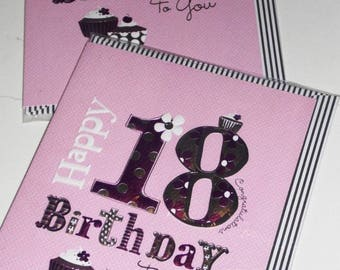 12 cards 18th BIRTHDAY CARDS x12, JUST 35p - We also have birthday cards / christmas cards / thank you cards