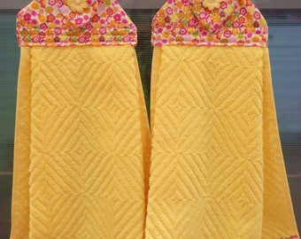 2 Set of hanging towels