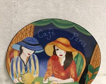 Sango Cafe Paris Dinner Plate