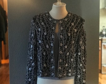 Vintage Evening jacket and camisole pair