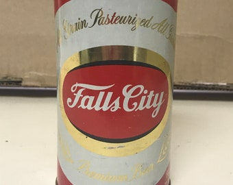 Falls City Early Fan Tab Can Circa 1960's