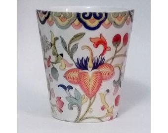 LA008- 12 oz Ceramic Latte Mug - Vintage Chinese Design