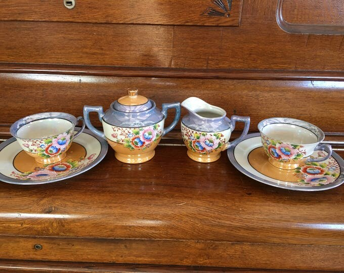 Homestead Hand Painted Tea Set