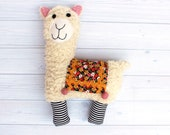 Little Llama Softie Sewing Pattern PDF