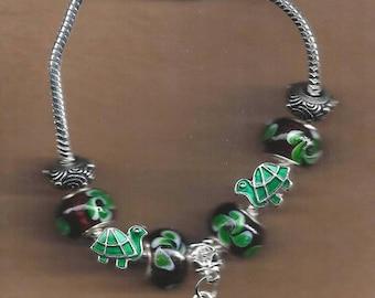 ON SALE The Painted Turtle Euro Bracelet