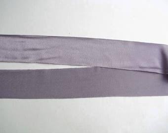 Nylon Lycra Spandex BINDING 1-1/2 in. Lavender PURPLE Lilac 5 yds Tape Straight Cut TAPE