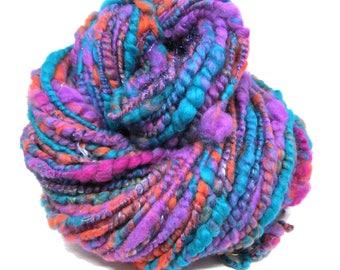 Core Spun Yarn Big n Bouncy Fine Merino Silk & Sparkle 219gram 7.7oz