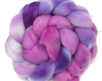 Merino Wool Hand Dyed Fine Combed Top 21 Micron 100gms - FM54