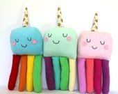 Octocorn, Plush Octopus Baby Toy, Unicorn Softie, Octopus Softie, Kids Gift, New Baby Gift, Rainbow Toy