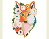 Pre-Order release Limited Edition Fox Enamel Pin by Jenlo