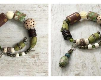 Spruce Meadows - wrap around bracelet