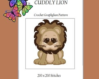 Cuddly Lion - Crochet Graphghan Pattern
