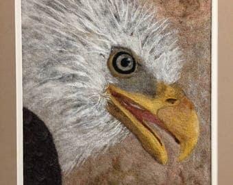 No. 793 Eagle - Needlefelt Art