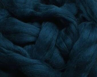 Ocean 4oz Merino Wool Top Roving Spinning/Felting/Blending