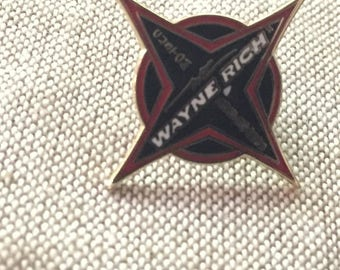 Wayne Rich Custom Surfboard Pinback Pin