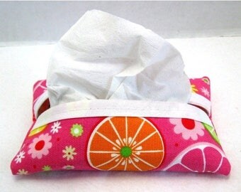 Flash Sale Fruit Tissue Holder Fruity Pocket Tissue Cozy