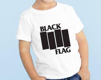 Black Flag Baby or Toddler Gift Set T-Shirt & Optional Gift Box