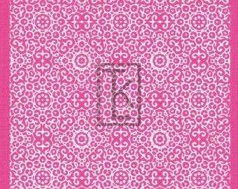 Intricate Tile Pattern Silk Screen