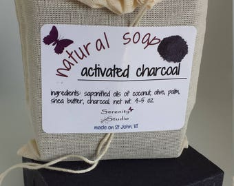 Homemade Soap, Organic Soap, Natural Soap, Handmade Soap, Cold Process Soap, Activated Charcoal