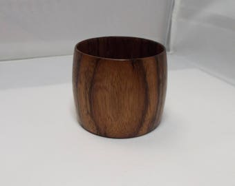 Snip bit bowl, Bocote, tiny bowl, bowl, spinning, weaving, threadsthrutime, threads, yarn bits
