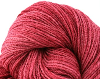Mohonk Light Hand Dyed fingering weight NYS Wool 550yds 4oz Rose Petals