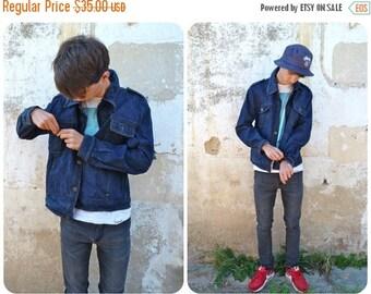 ON SALE Vintage 1980/80s Denim Jean jacket size M