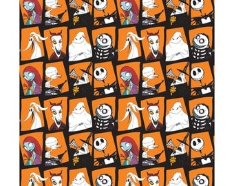 Camelot, Disney, Nightmare Before Christmas Characters in panes, Yard