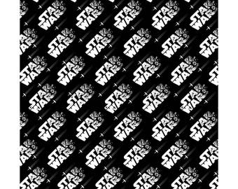 From Camelot Fabrics, Star Wars: the Last Jedi, Star wars Logo, yard