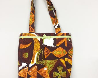 Tote Bag - Retro 60s Hawaiian Tiki