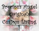 Custom Streamer Personalized Hair Bow Embroidered with A Name or a School/Mascot Name