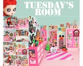TUESDAY'S ROOM photo set (print pack of 10)
