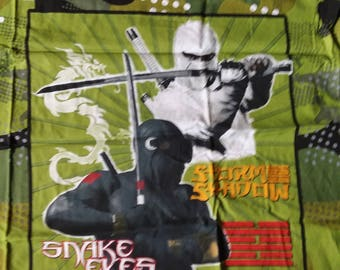 Cotton Fabric - GI Joe Cobra 1 yard 6 inches