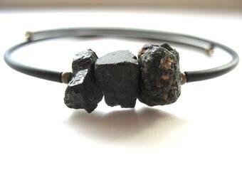 Tourmaline Bracelet, Black Tourmaline Stone Bounce Back Bracelet , Handmade Bracelet