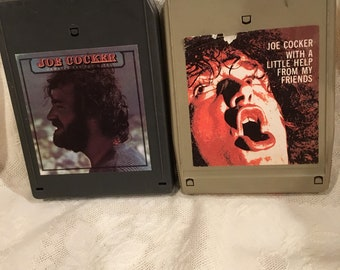 """JOE COCKER 8 Track """"With A Little Help From My Friends"""" """"Jamaica Say You Will"""""""