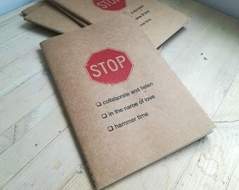 Stop (limited edition notebook)