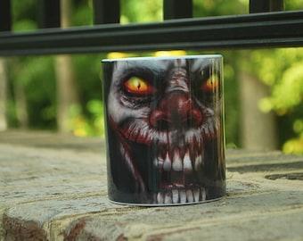 Scary Clown Mug