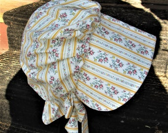 Girls Pioneer Prairie bonnet / Please read full ad on sizing and shipping