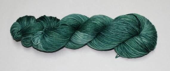 Evergreen Hand Dyed Sock Yarn